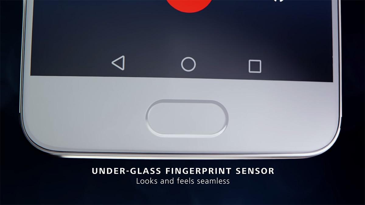 Huawei P10 指紋認証センサー内蔵のホームボタン