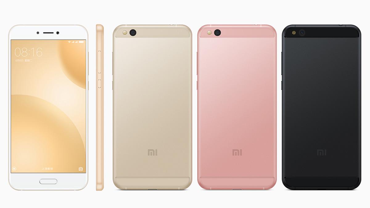 Xiaomi Mi5c カラーバリエーション