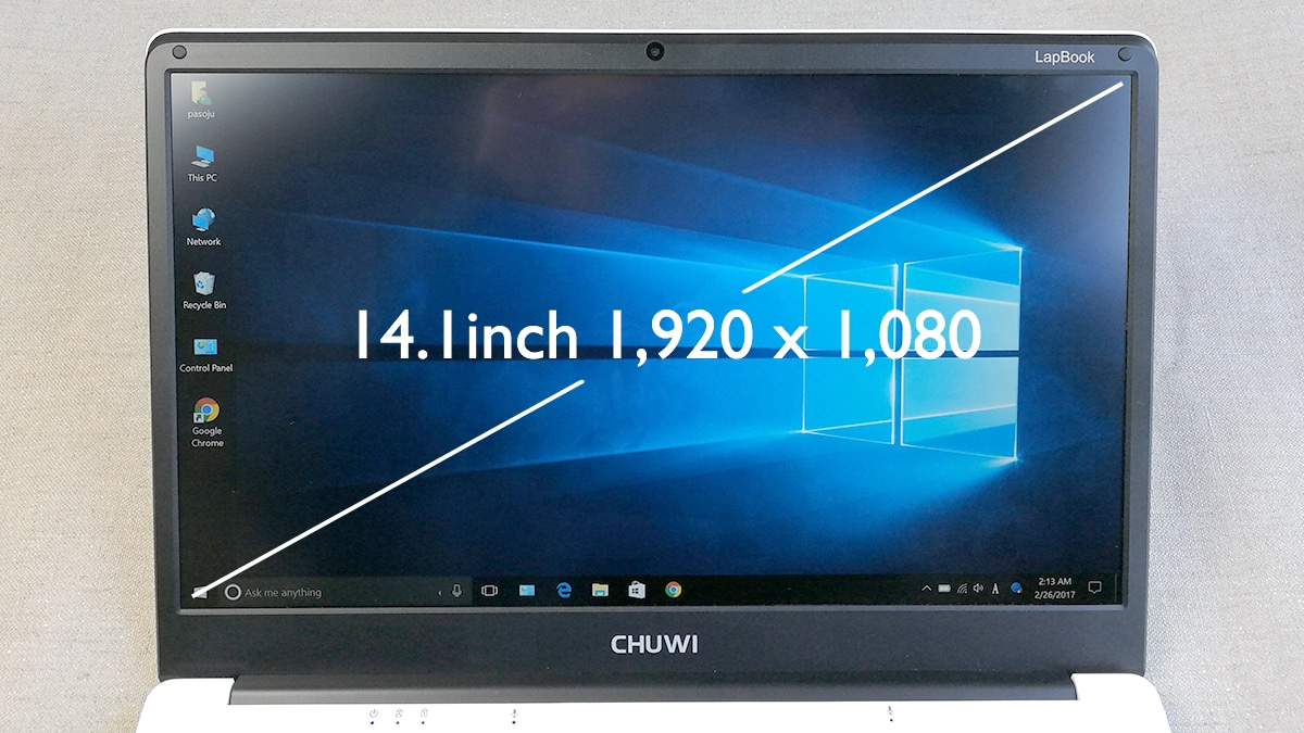 LapBook 14.1 液晶ディスプレイ