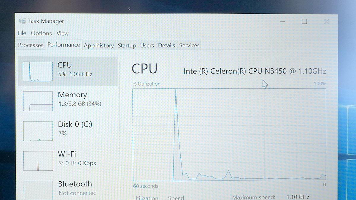 CHUWI LapBook 14.1 パフォーマンス