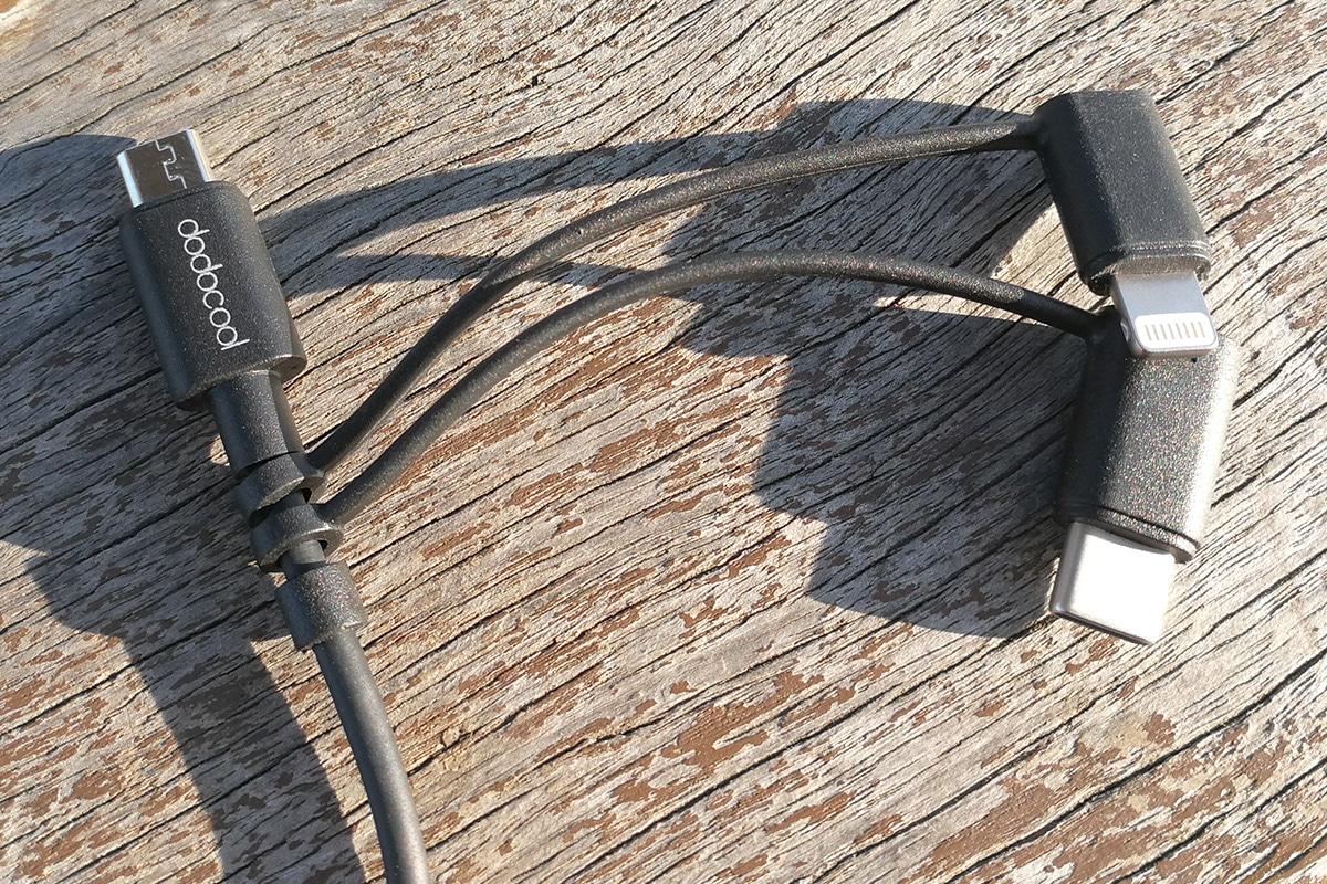 dodocool 3in1 USBケーブル