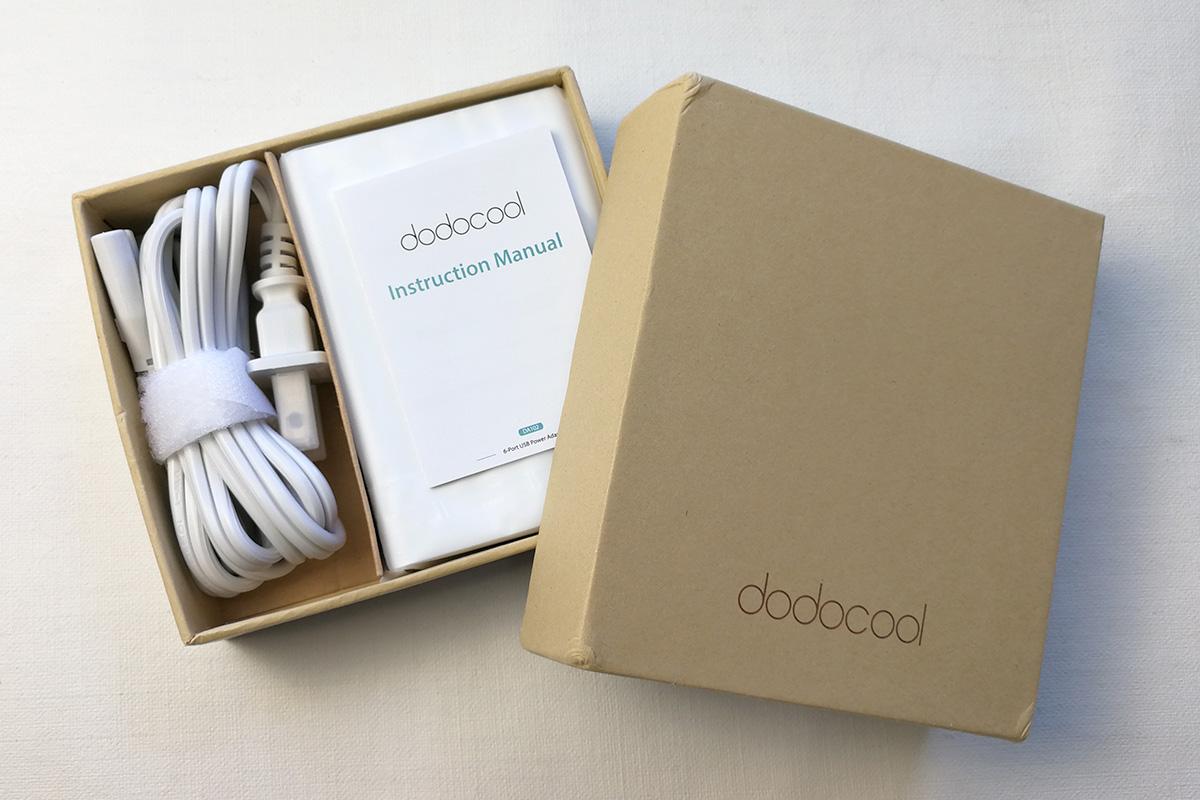 dodocool 58W 6ポートUSB充電器 開封