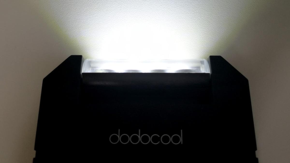 dodocool ソーラーバッテリーチャージャー LEDライト