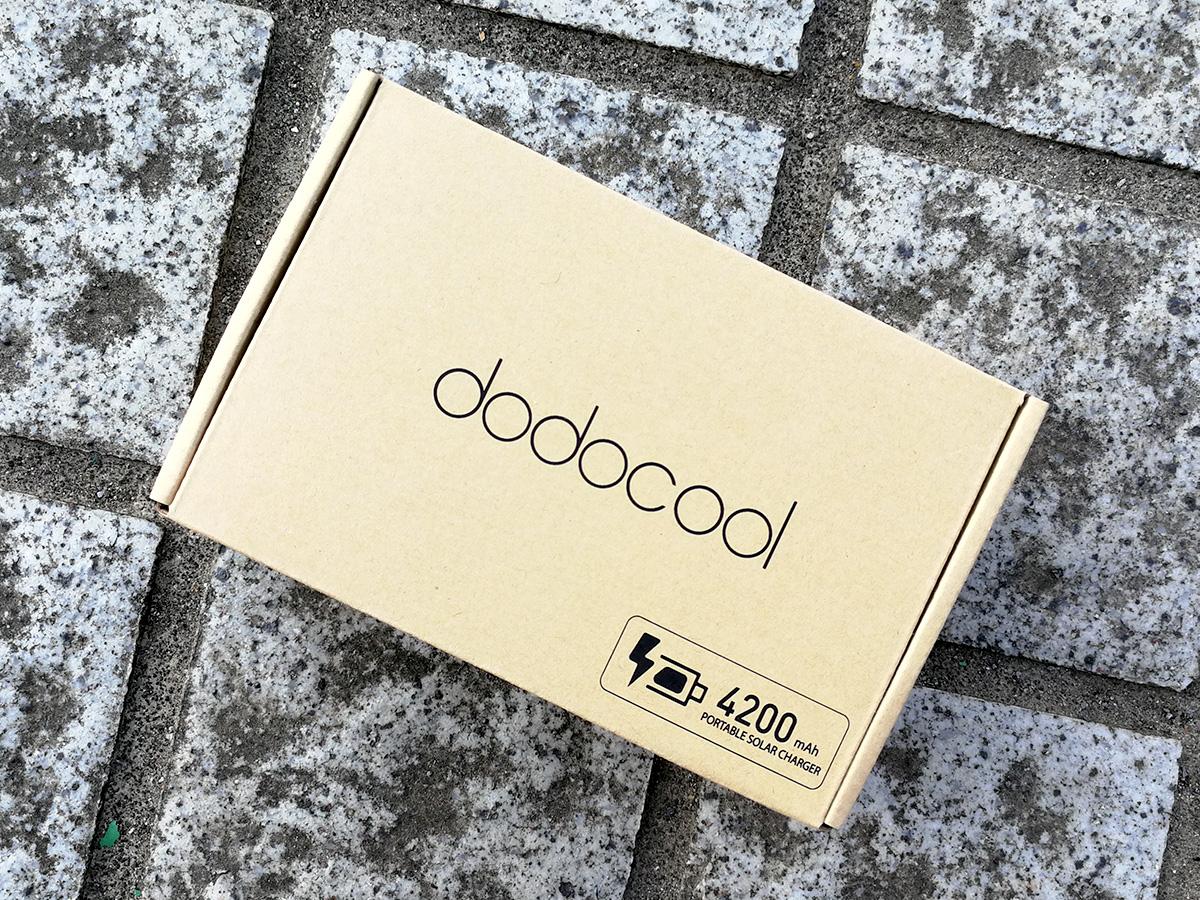 dodocool ソーラーバッテリーチャージャー パッケージ