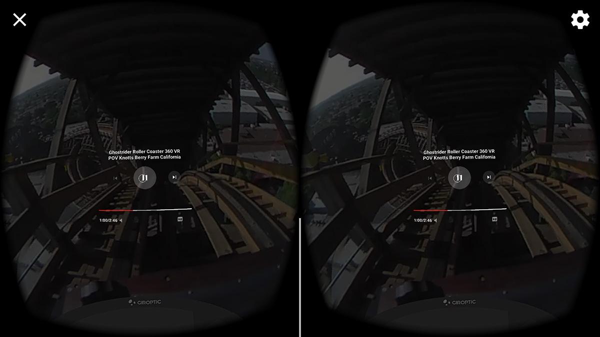 YouTube VR映像