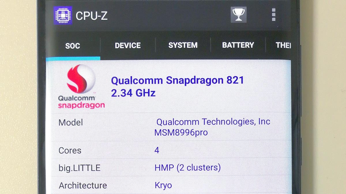Xiaomi Mi Note 2 プロセッサ