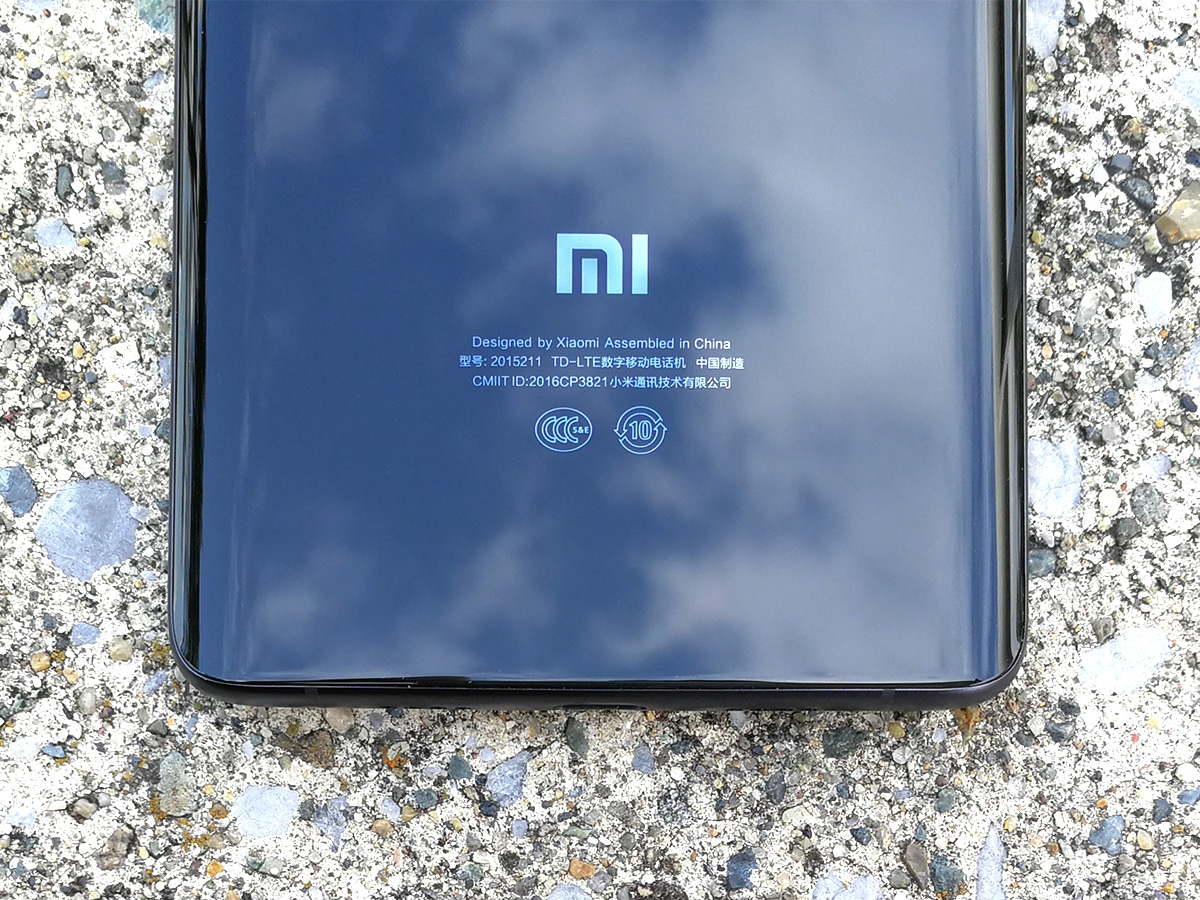 Xiaomi Mi Note 2 背面