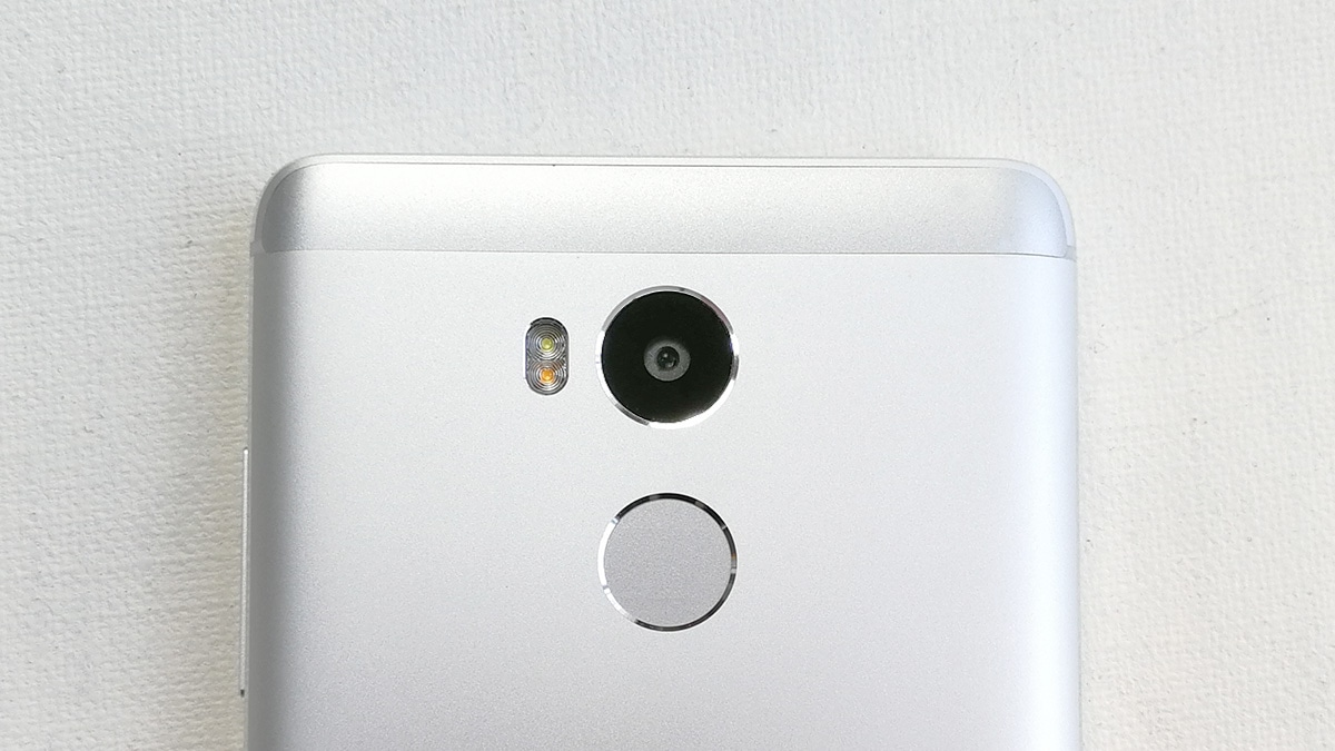 Xiaomi Redmi 4 背面カメラ周辺