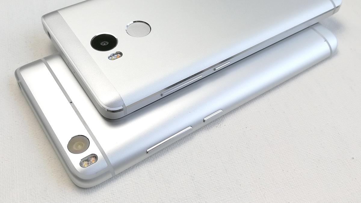 Xiaomi Mi5s vs Redmi Note 3 Pro