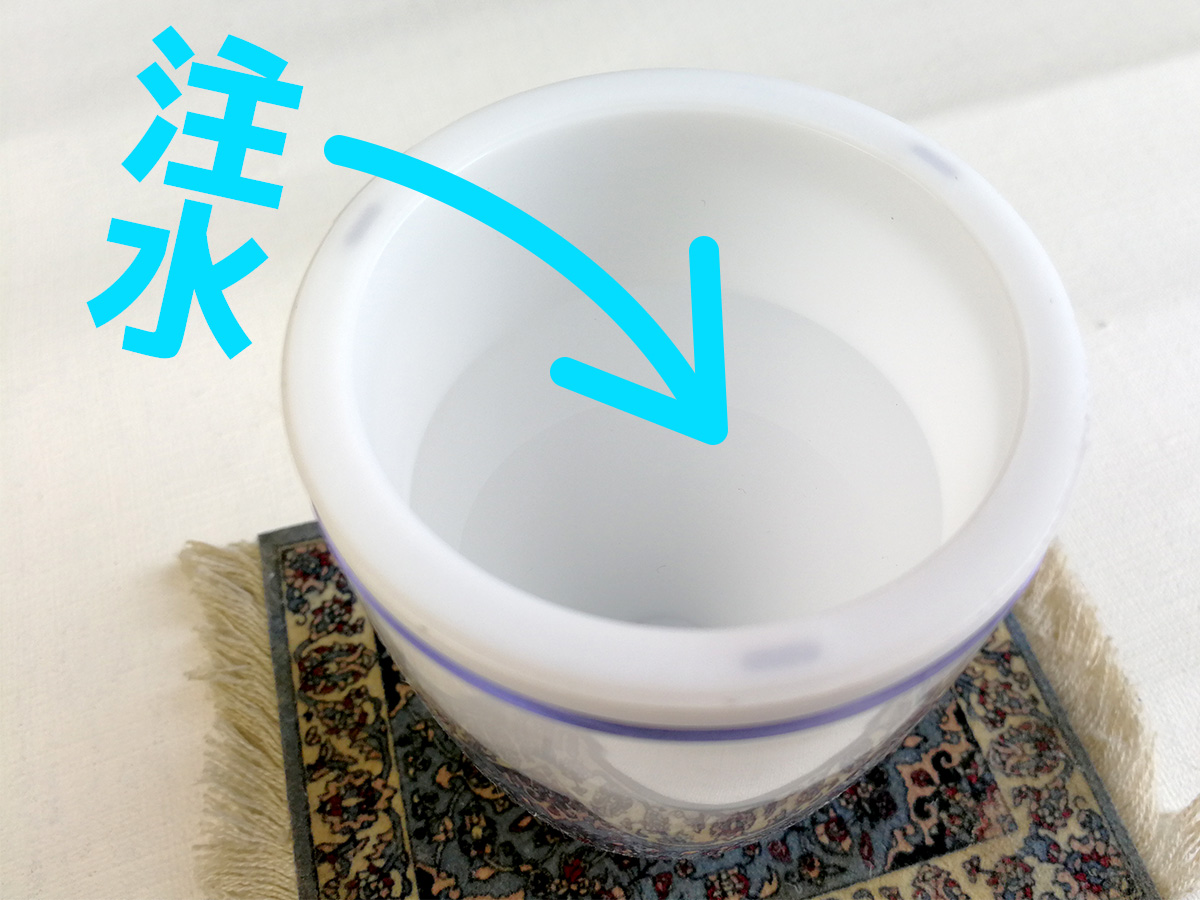 Anself USBムーンライトカップ加湿器 使い方 注水