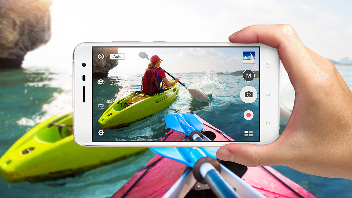 ASUS ZenFone 3 カメラ