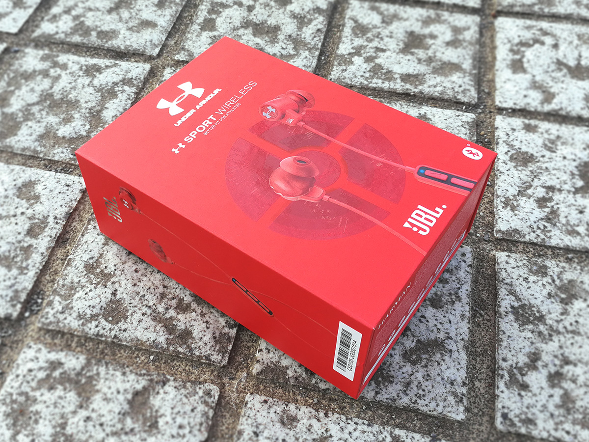 JBL UA Sport Wireless パッケージ