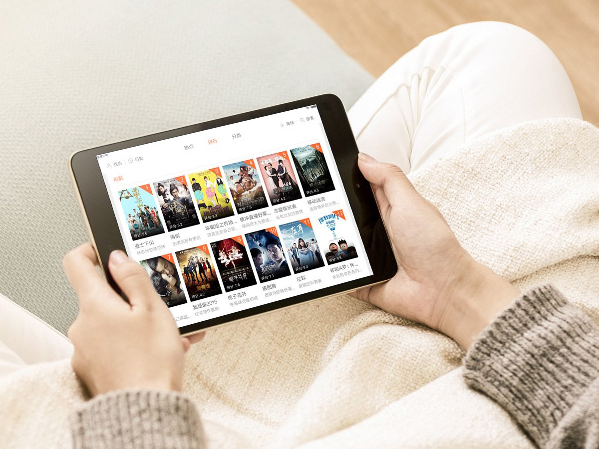 Xiaomi Mi Pad 3 デザイン