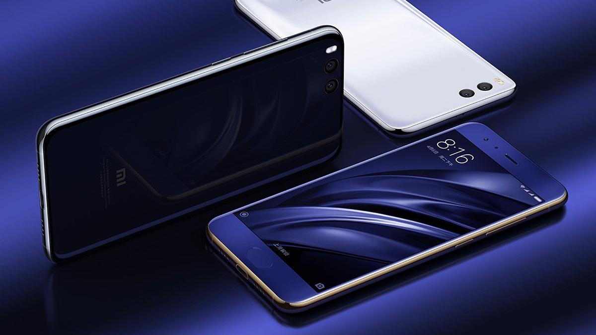 Xiaomi Mi6 デザイン