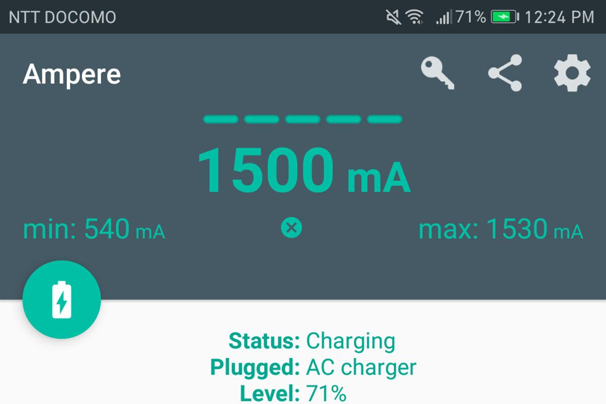 cheero Power Plus 3 スーパーカーレッド 電流