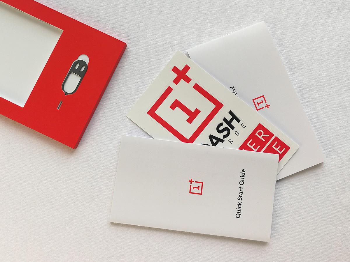 OnePlus 3T 説明書類