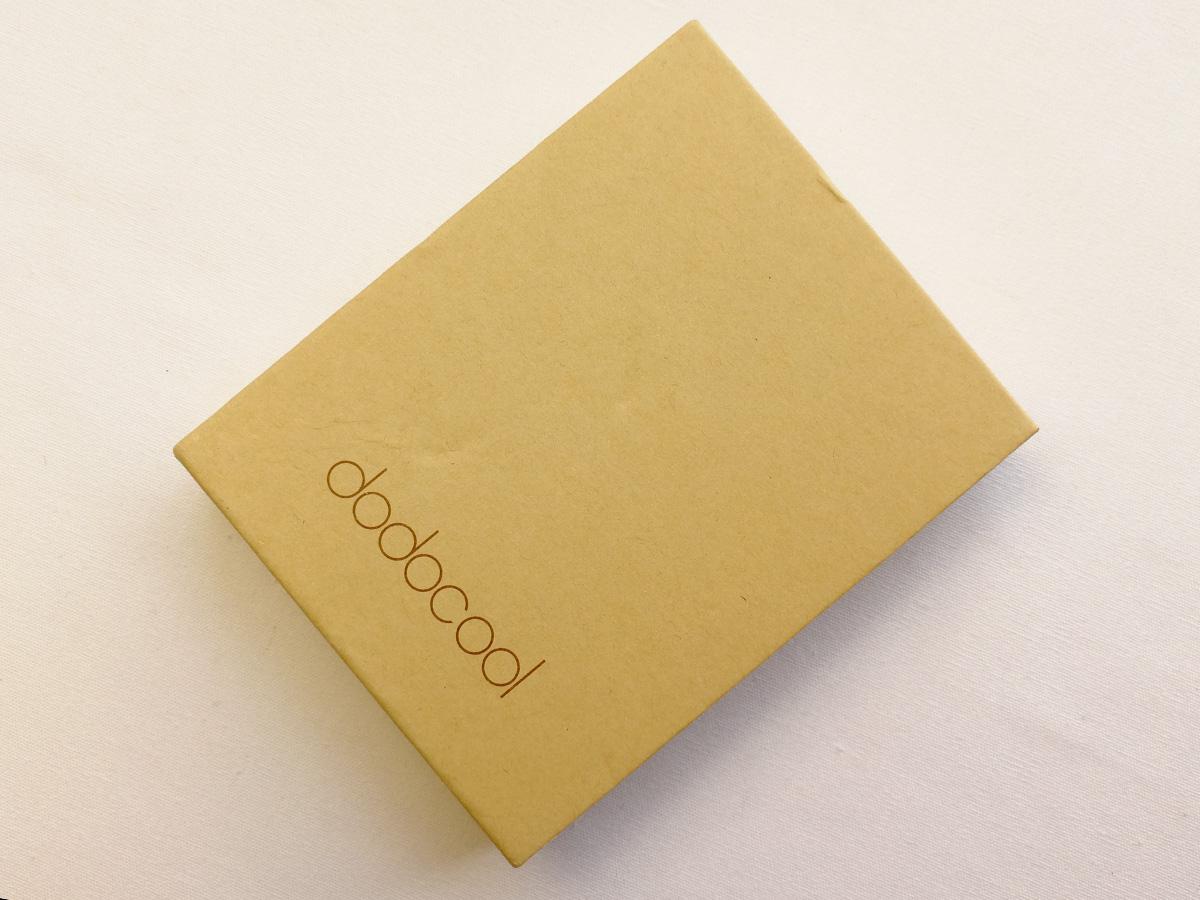 dodocool 超薄型2500mAhパワーバンク外部バッテリー充電器 パッケージ