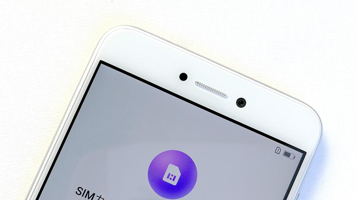 Huawei nova lite 前面カメラ