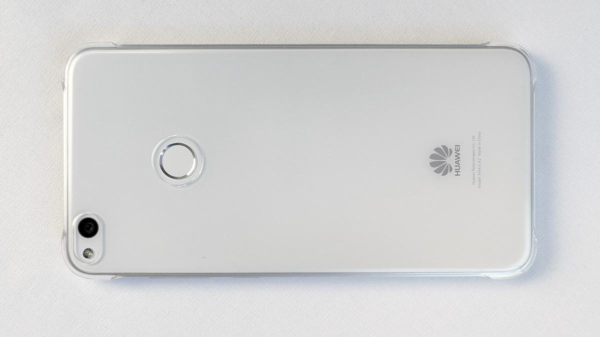 Huawei nova lite ケースを付けた状態