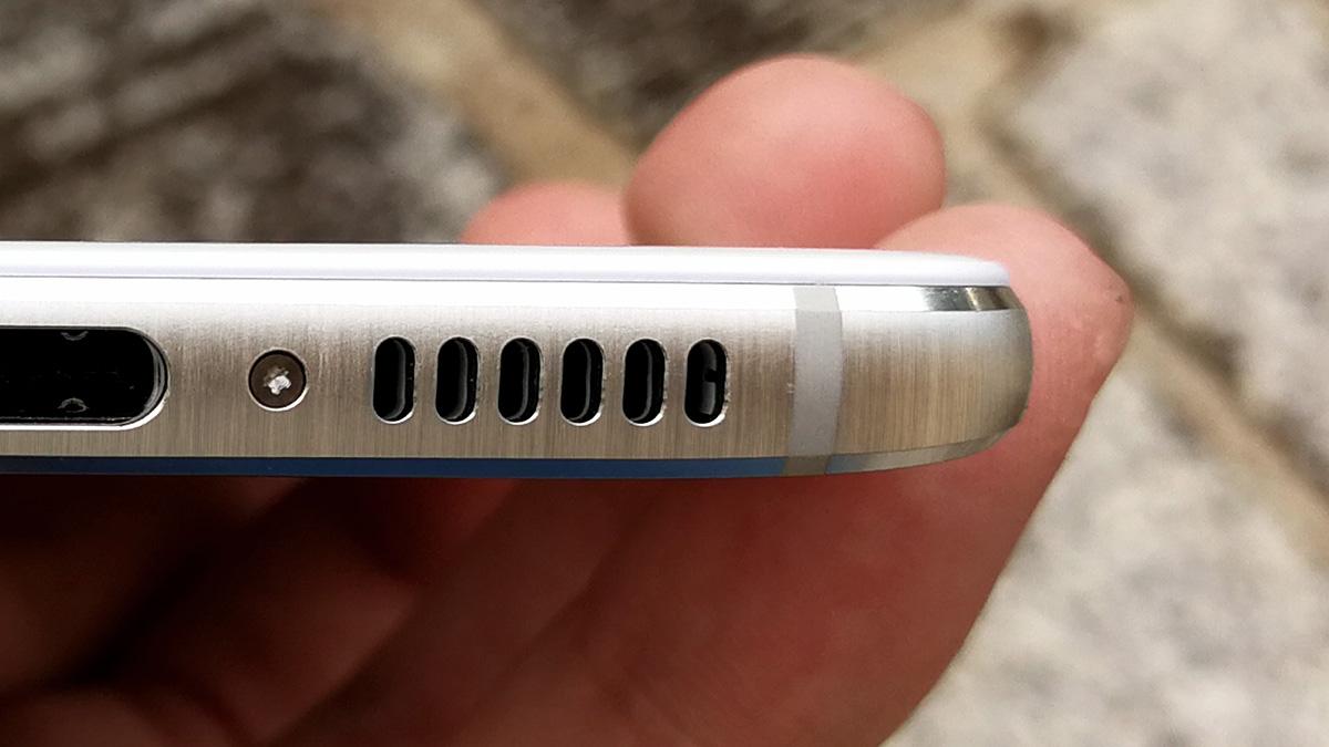 Huawei nova 側面の処理
