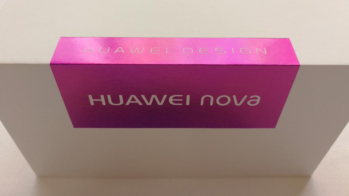Huawei nova パッケージ