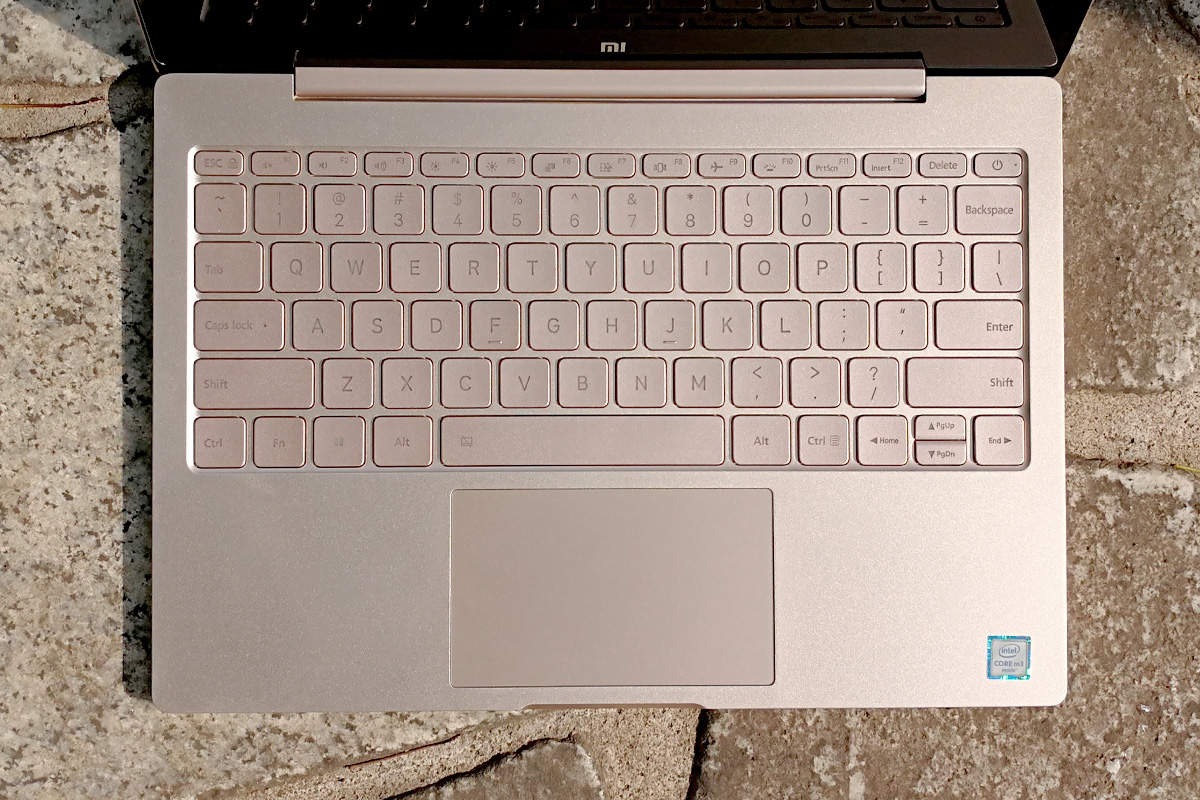 Xiaomi Mi Notebook Air 12 キーボード