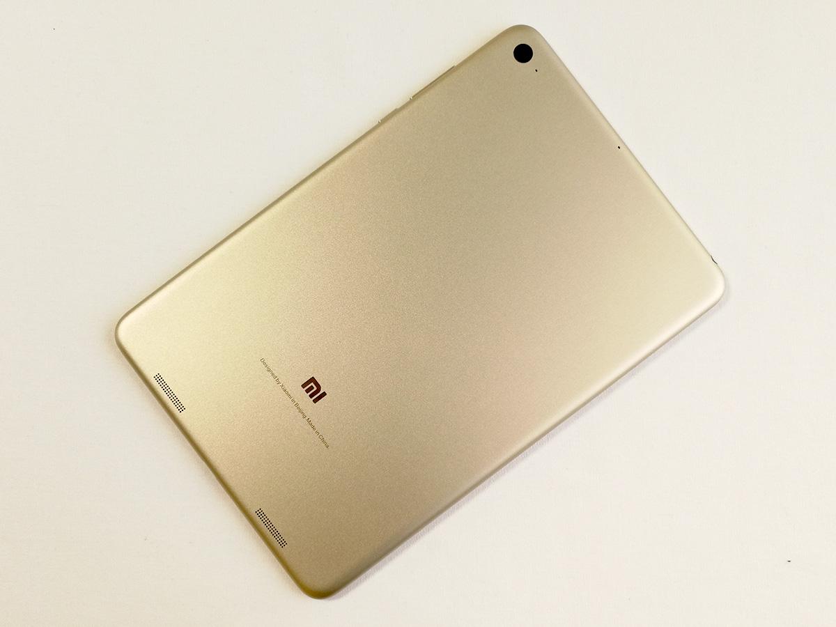 Xiaomi Mi Pad 3 背面