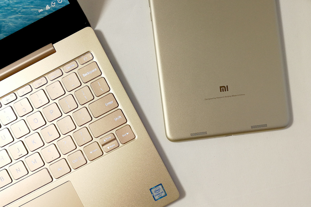 Xiaomi Mi Pad 3とMi Notebook Air