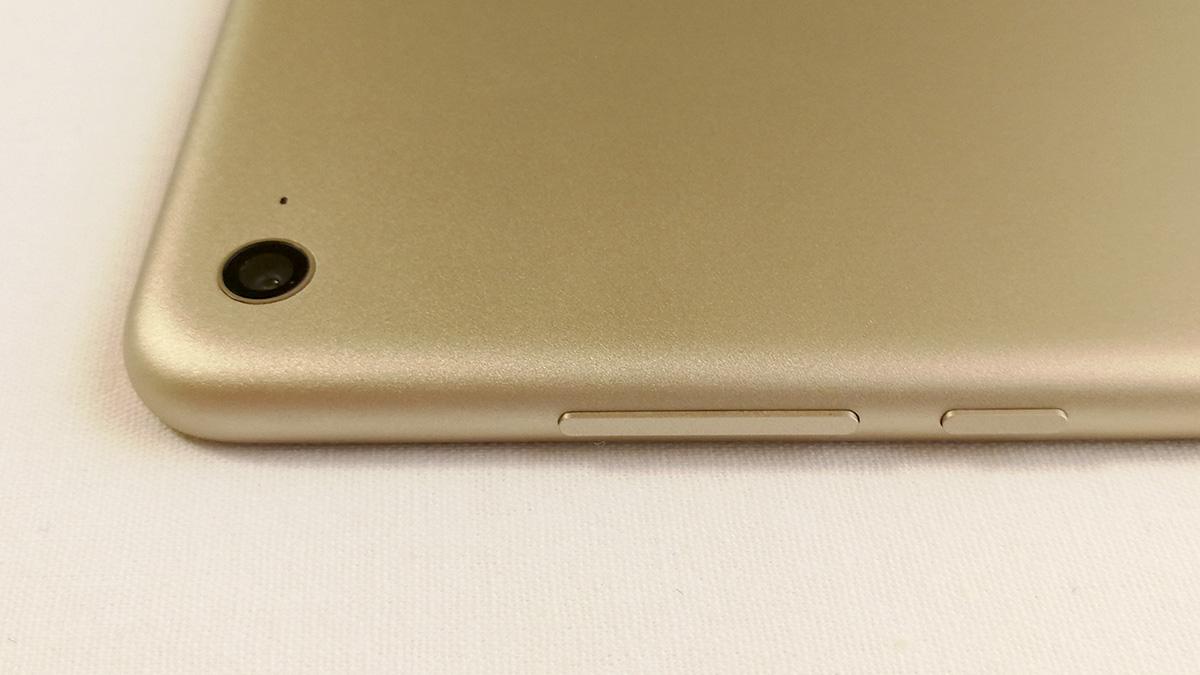 Xiaomi Mi Pad 3 音量調節ボタン