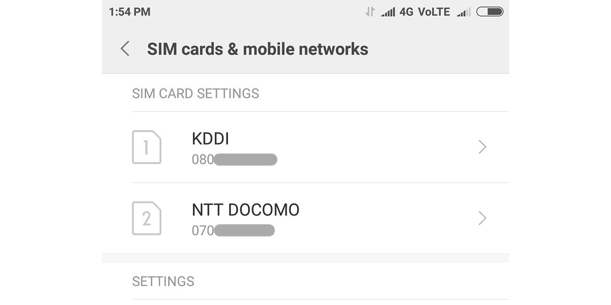 Xiaomi Mi6 DSDS
