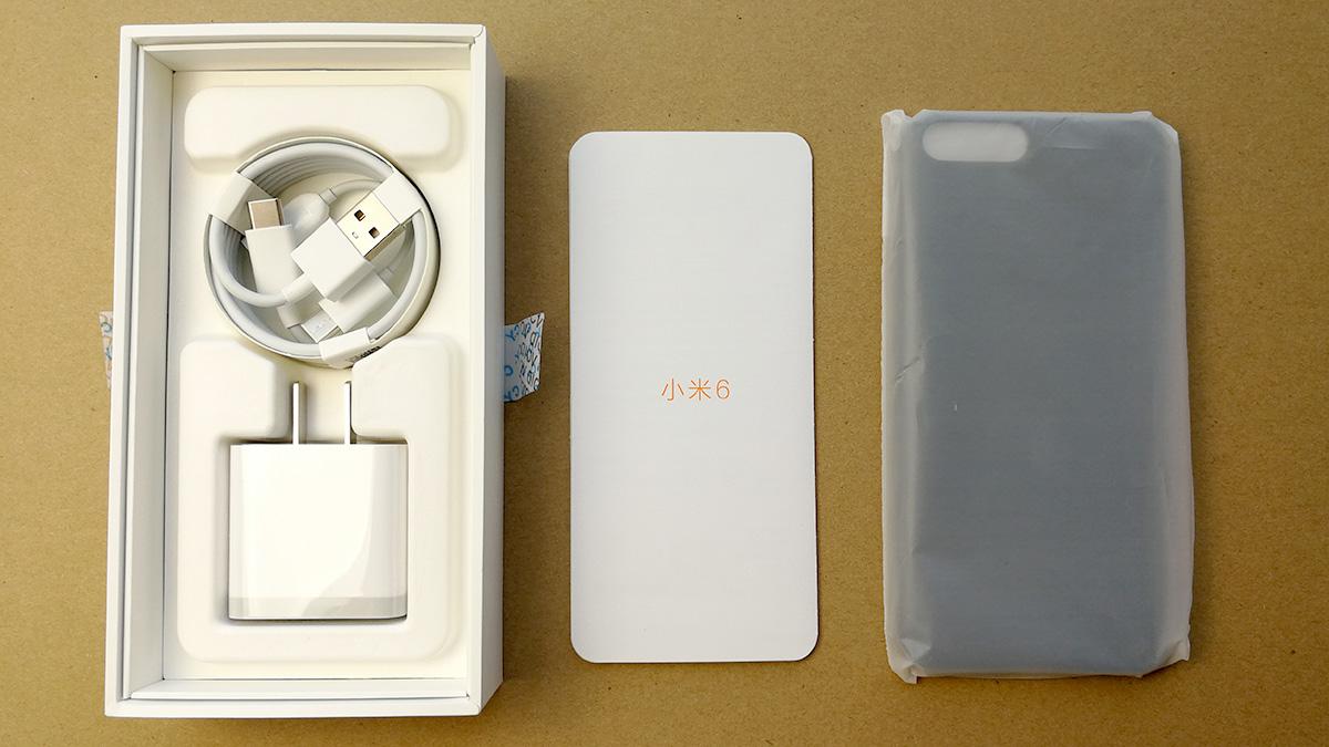 Xiaomi Mi6 付属品