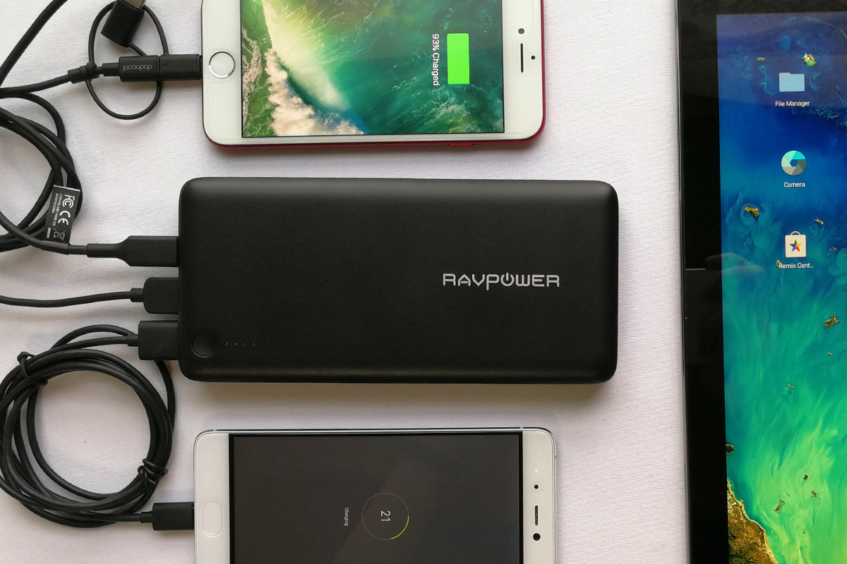 RAVPower 26800バッテリー