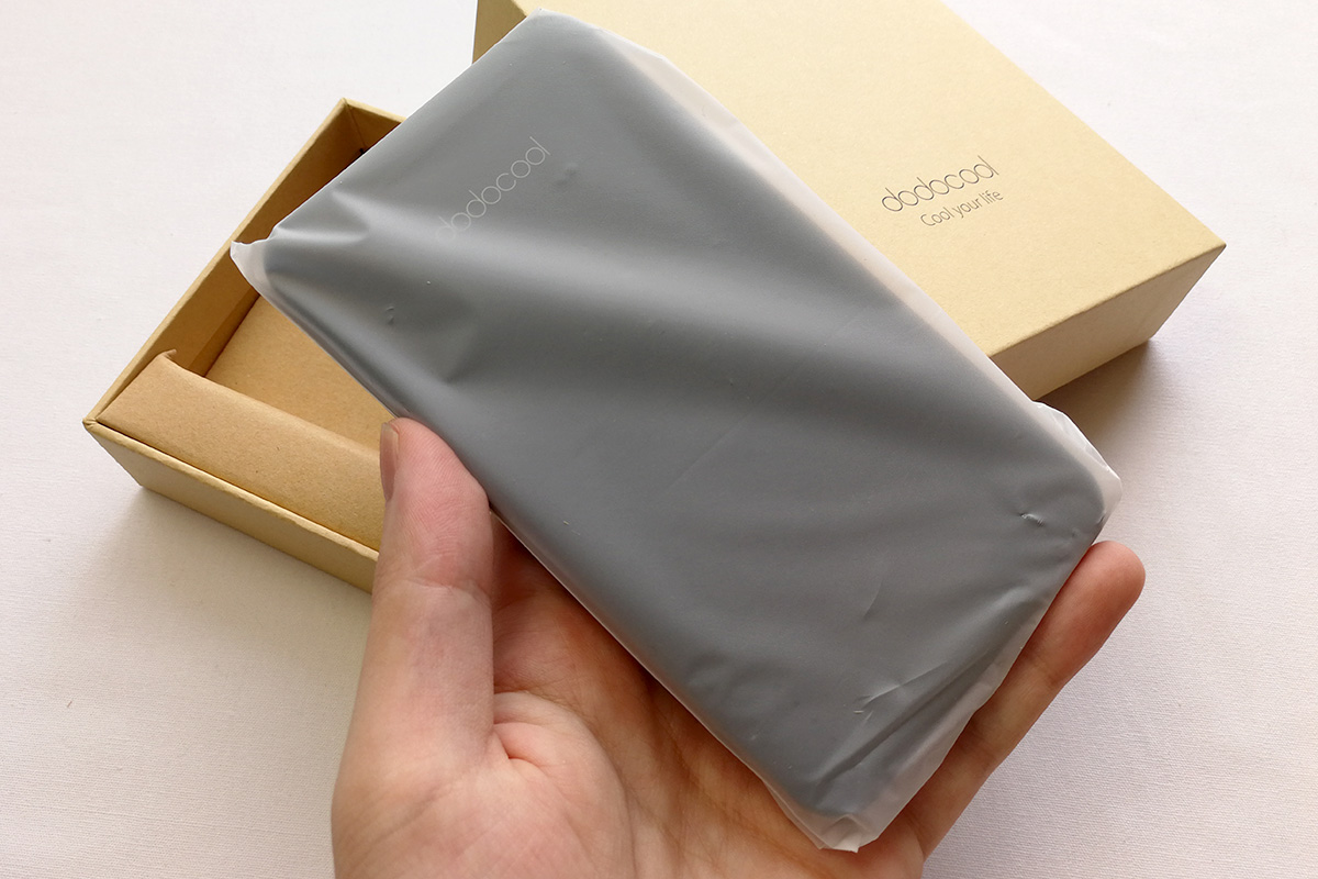 dodocool ケーブル内蔵式10,000mAhモバイルバッテリー 開封