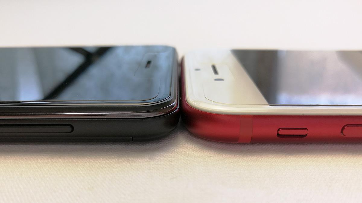 Elephone P8 mini 厚み比較