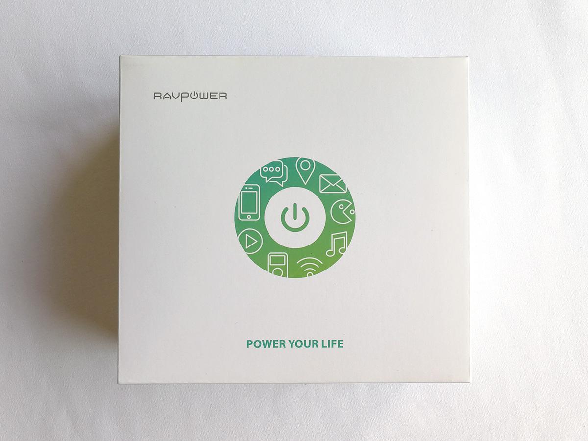 RAVPower 20100mAhバッテリー パッケージ