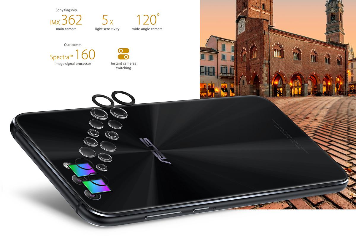 ZenFone 4 デュアルレンズカメラ