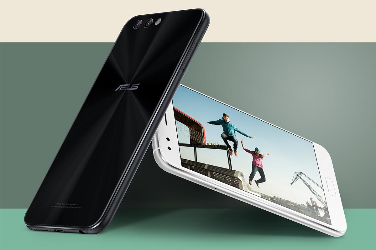 ASUS ZenFone 4 デザイン