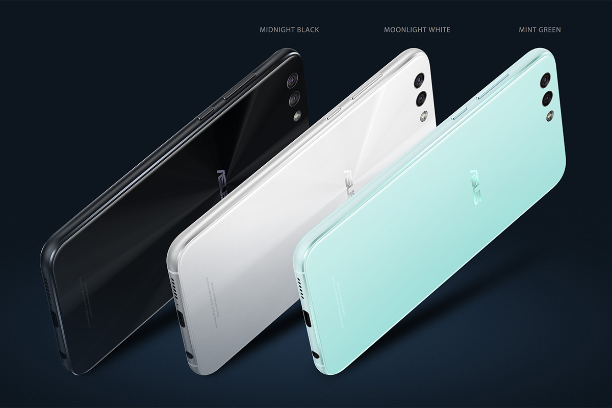 ASUS ZenFone 4 カラーバリエーション