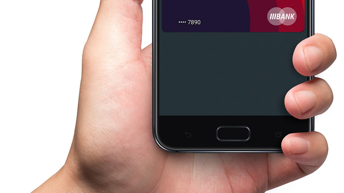 ASUS ZenFone 4 指紋認証センサー内蔵ホームボタン