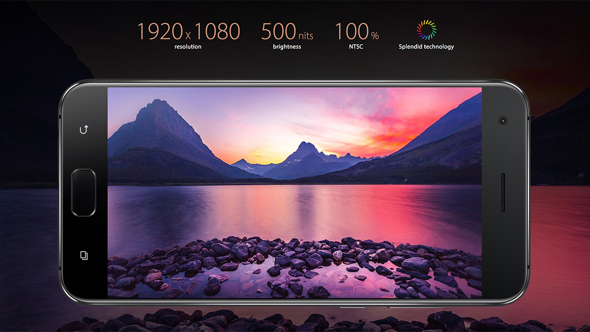 ZenFone 4 Pro AMOLEDディスプレイ