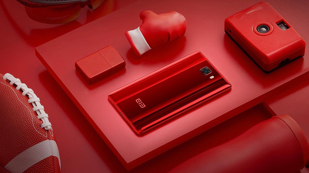 Elephone S8 レッド