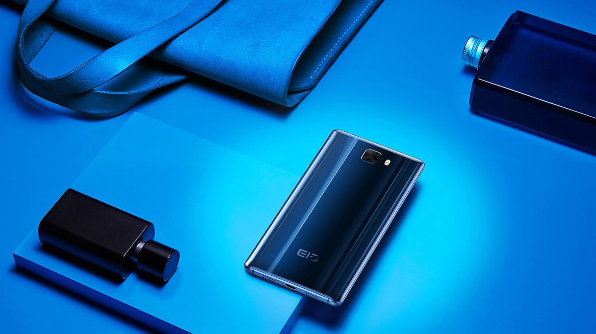 Elephone S8 ブルー