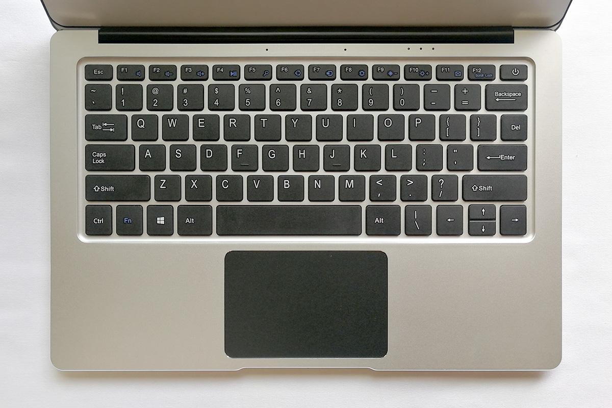 Jumper EzBook 3 Pro デザイン キーボード配置