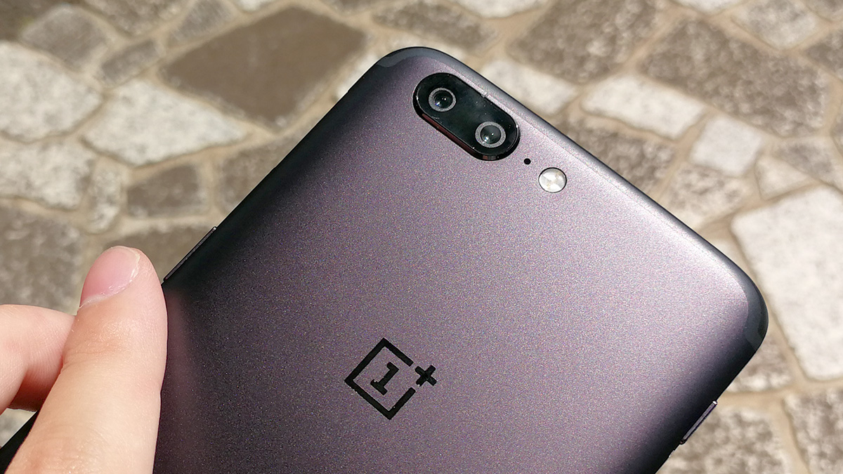OnePlus 5 デザイン 背面カメラ