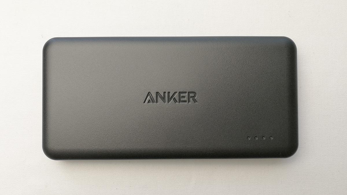 Anker PowerCore II Slim 10000 天面