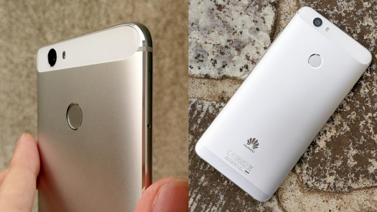 Huawei novaのマット質感なメタルボディ