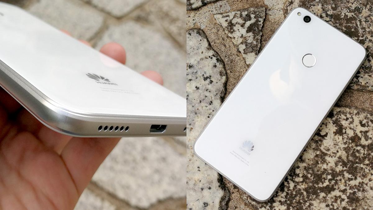 Huawei nova liteのガラスボディ