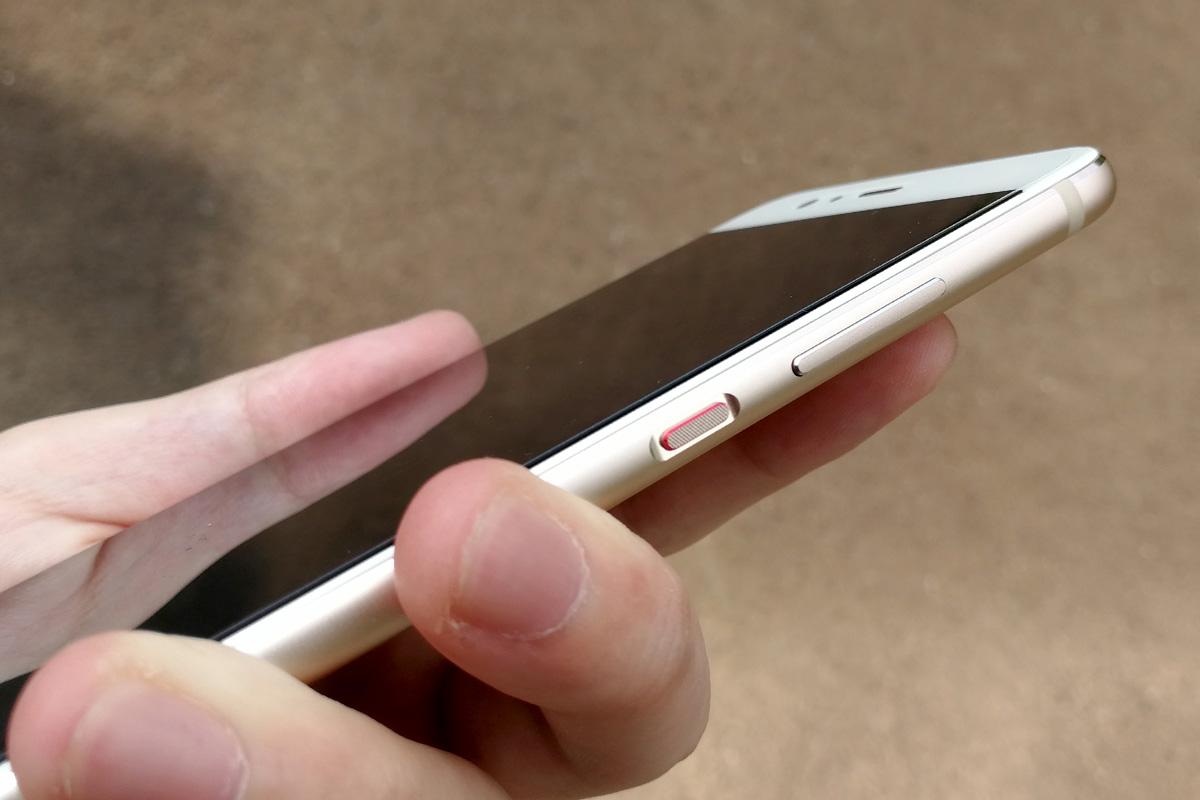 Huawei P10 ボタン