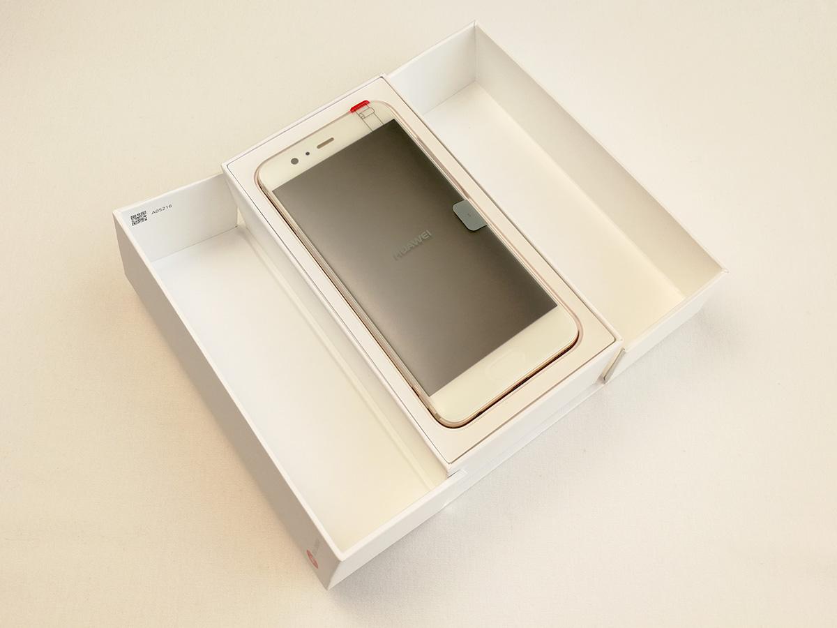 Huawei P10 開封