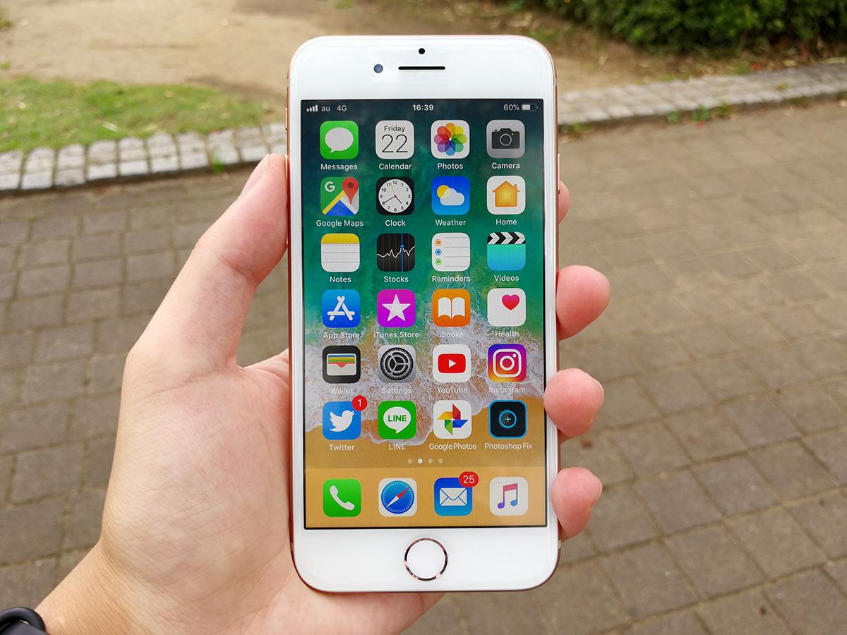 iPhone 8 前面